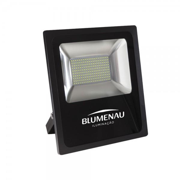 refletor led slim aluminio 10w bivolt 6 000k 750lm